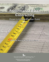 Performance Based Contracting Handbook